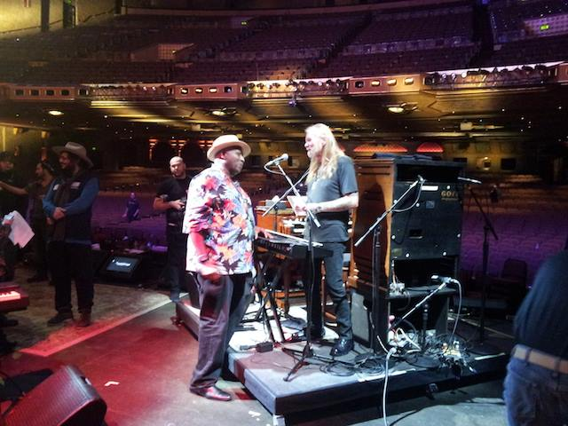 Taj and Gregg allman
